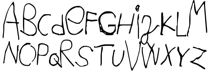 Acki Preschool Font UPPERCASE