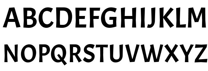 Acme Font UPPERCASE