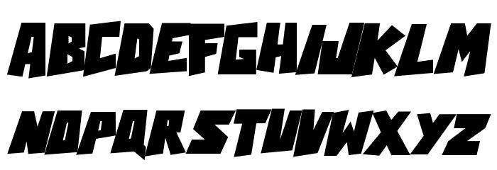 Action Comcs Black Font Litere mari
