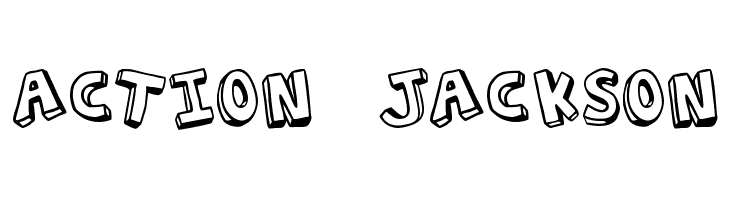 Action Jackson  Free Fonts Download