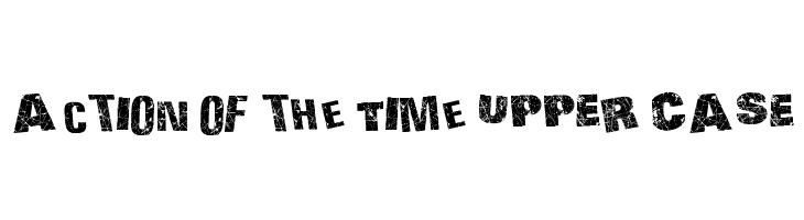 Action of the Time UPPER CASE  Descarca Fonturi Gratis