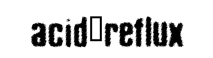 acid_reflux  Free Fonts Download