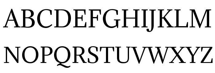 Adamina Font Litere mari