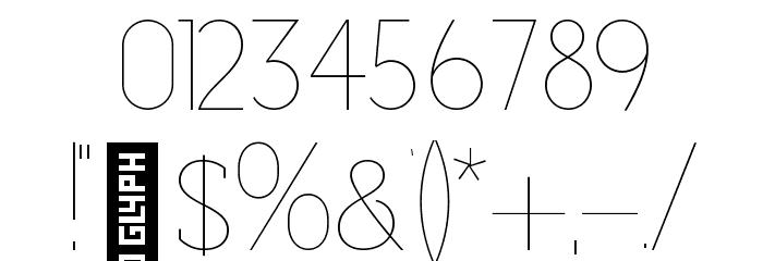 Adelaide-Regular Шрифта ДРУГИЕ символов