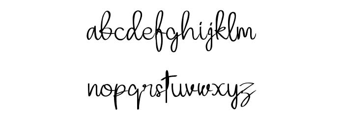 Adellina Font LOWERCASE