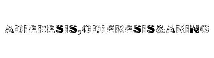 Adieresis, Odieresis & Aring  Free Fonts Download