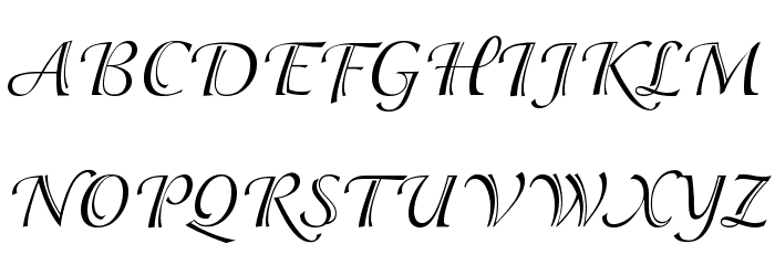 Adorable Font UPPERCASE