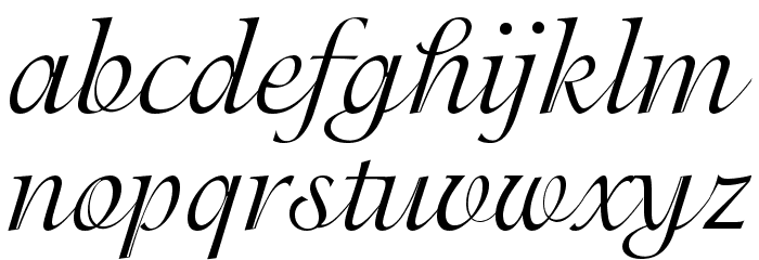 Adorable Font LOWERCASE