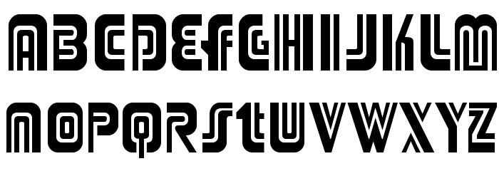 Adriator-Regular Font Litere mari