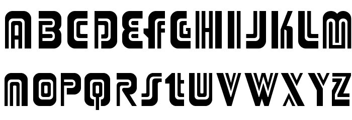 Adriator-Regular Font Litere mici
