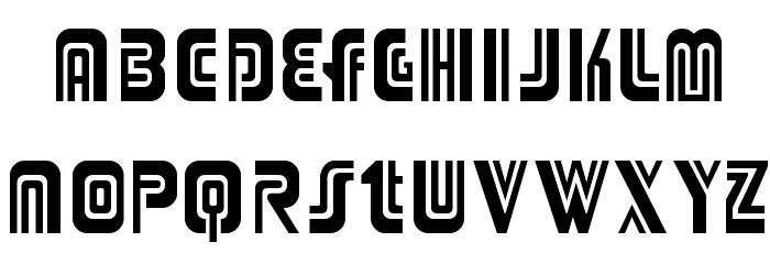Adriator Font Litere mici