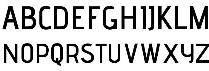 Advent Pro SemiBold Font UPPERCASE