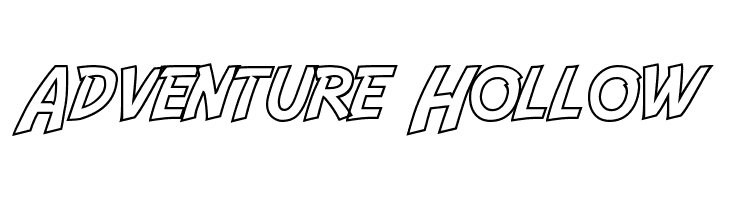 Adventure Hollow  Free Fonts Download