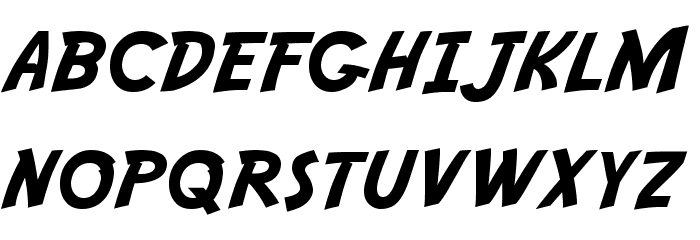 Adventure Normal Font UPPERCASE