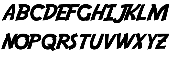 Adventure Font LOWERCASE
