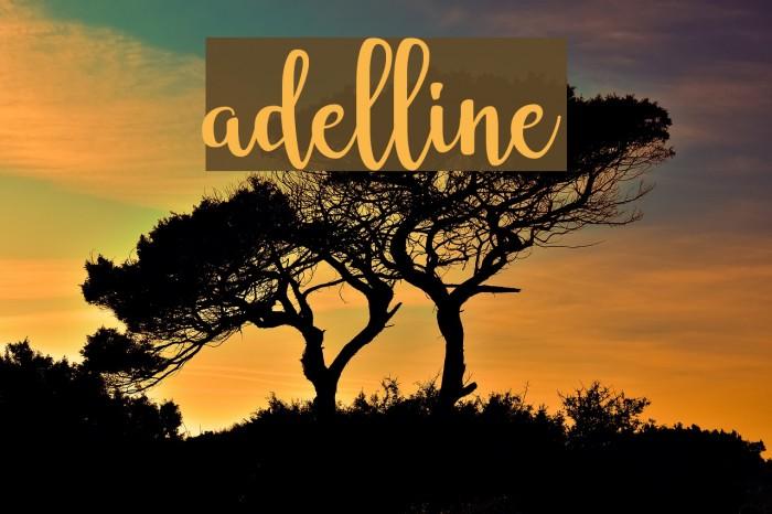 adelline Font examples