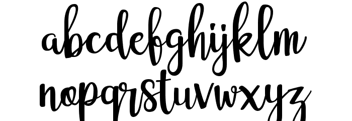 adelline フォント 小文字