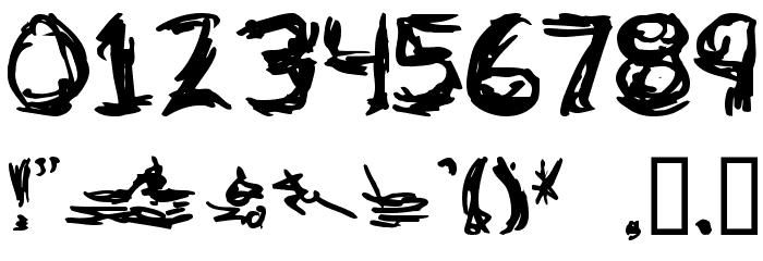 adlock Font Alte caractere
