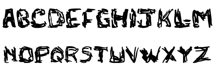 adlock Font UPPERCASE