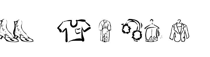 AEZ clothes  Free Fonts Download