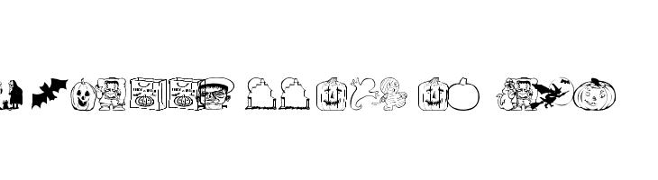 AEZ halloween dingbats  नि: शुल्क फ़ॉन्ट्स डाउनलोड