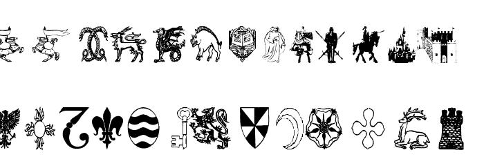 AEZ medieval dings फ़ॉन्ट लोअरकेस