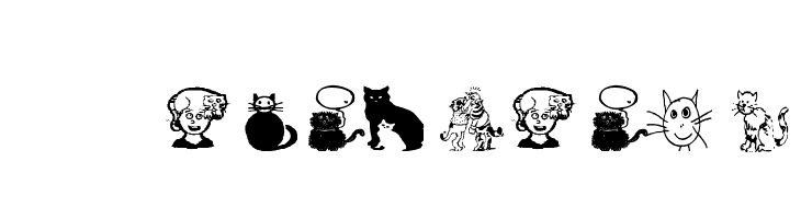 AEZcrazycats  Free Fonts Download
