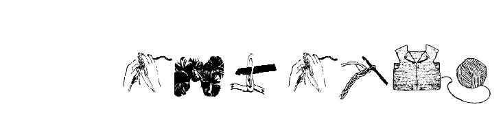 AEZcrochet  Descarca Fonturi Gratis