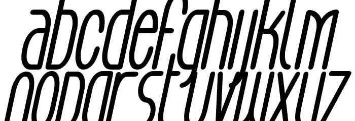 Aeg Flyon Now bold cursive Italic Fonte MINÚSCULAS