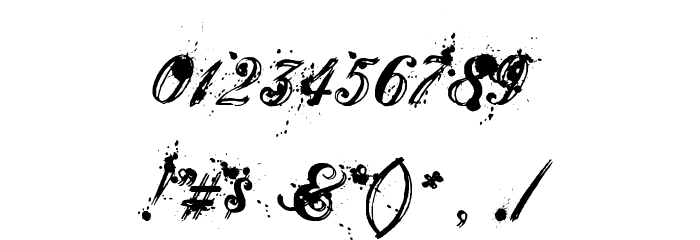 Aenima Font OTHER CHARS
