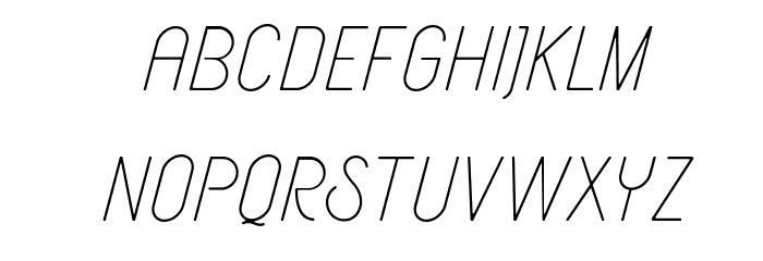 AeriozDemo Schriftart Kleinbuchstaben