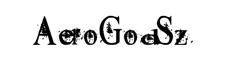 AeroGodSz  नि: शुल्क फ़ॉन्ट्स डाउनलोड