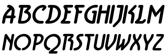 Aerolite Bold Italic Fonte MAIÚSCULAS
