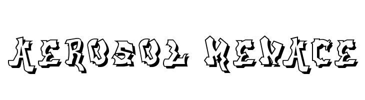 aerosol menace  Free Fonts Download