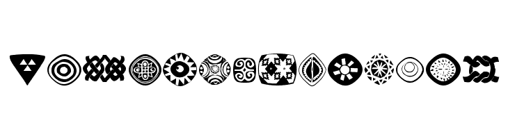 AfricanSymbols  Free Fonts Download
