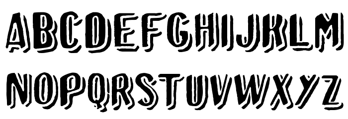 Afro Add plain Font Litere mari