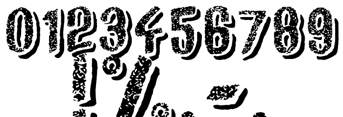 Afro Add Font Alte caractere