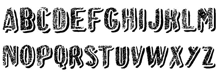 Afro Add Font Litere mari