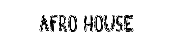 Afro House  Free Fonts Download