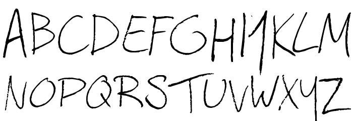 Afromatic Font Litere mari
