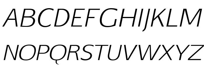 Aftasans-Italic Font UPPERCASE