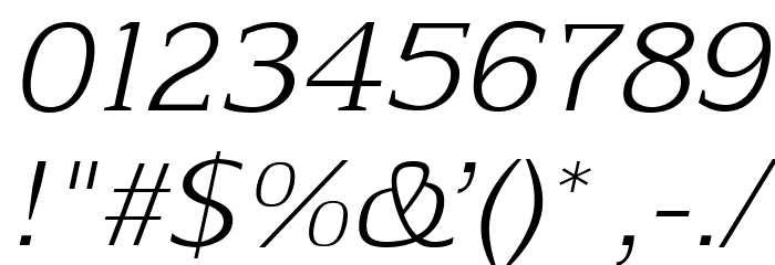 Aftaserif-Italic फ़ॉन्ट अन्य घर का काम
