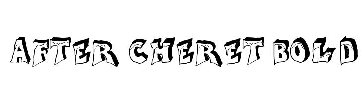 After Cheret Bold  baixar fontes gratis