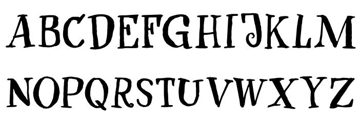 After Nightfall DEMO Regular Font UPPERCASE