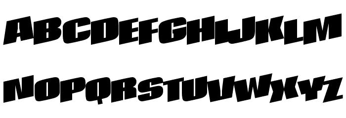 After Regular ttnorm Font UPPERCASE
