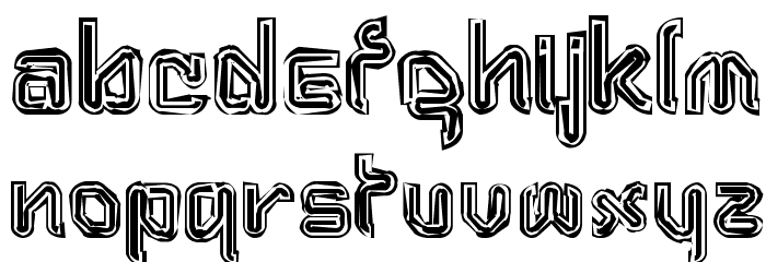 Aftermath Font UPPERCASE
