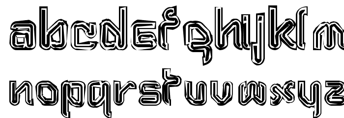 Aftermath Font LOWERCASE