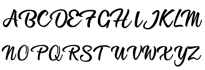 Afternoon in Stereo Personal Use Regular Font UPPERCASE