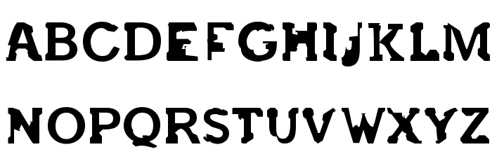 after 45' Font UPPERCASE