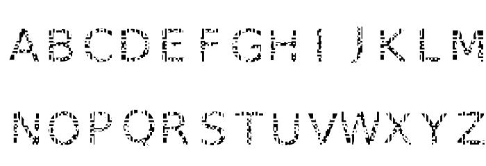 AGLRY 1 फ़ॉन्ट अपरकेस